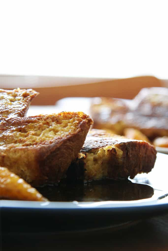 Sunday Morning Sunshine – Pannetone French Toast