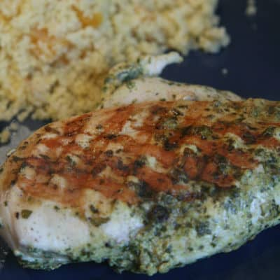 BBQ Season's Last Gasp – Moroccan Spiced Grilled Chicken and Apricot Couscous