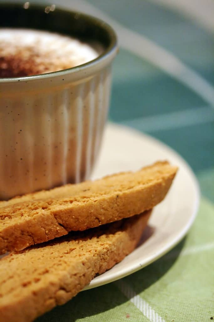 To Drive the Cold Winter Away – Gingerbread Biscotti