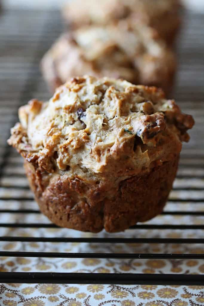 Do You Know the Muffin Man? – Apple, Cranberry and Walnut Muffins