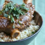 Let Us Give Shanks – Moroccan Braised Lamb Shanks