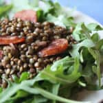 Cheap and Easy – Warm Lentil Salad