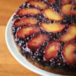 Suddenly Summer – Peach-Blueberry Upside Down Cake