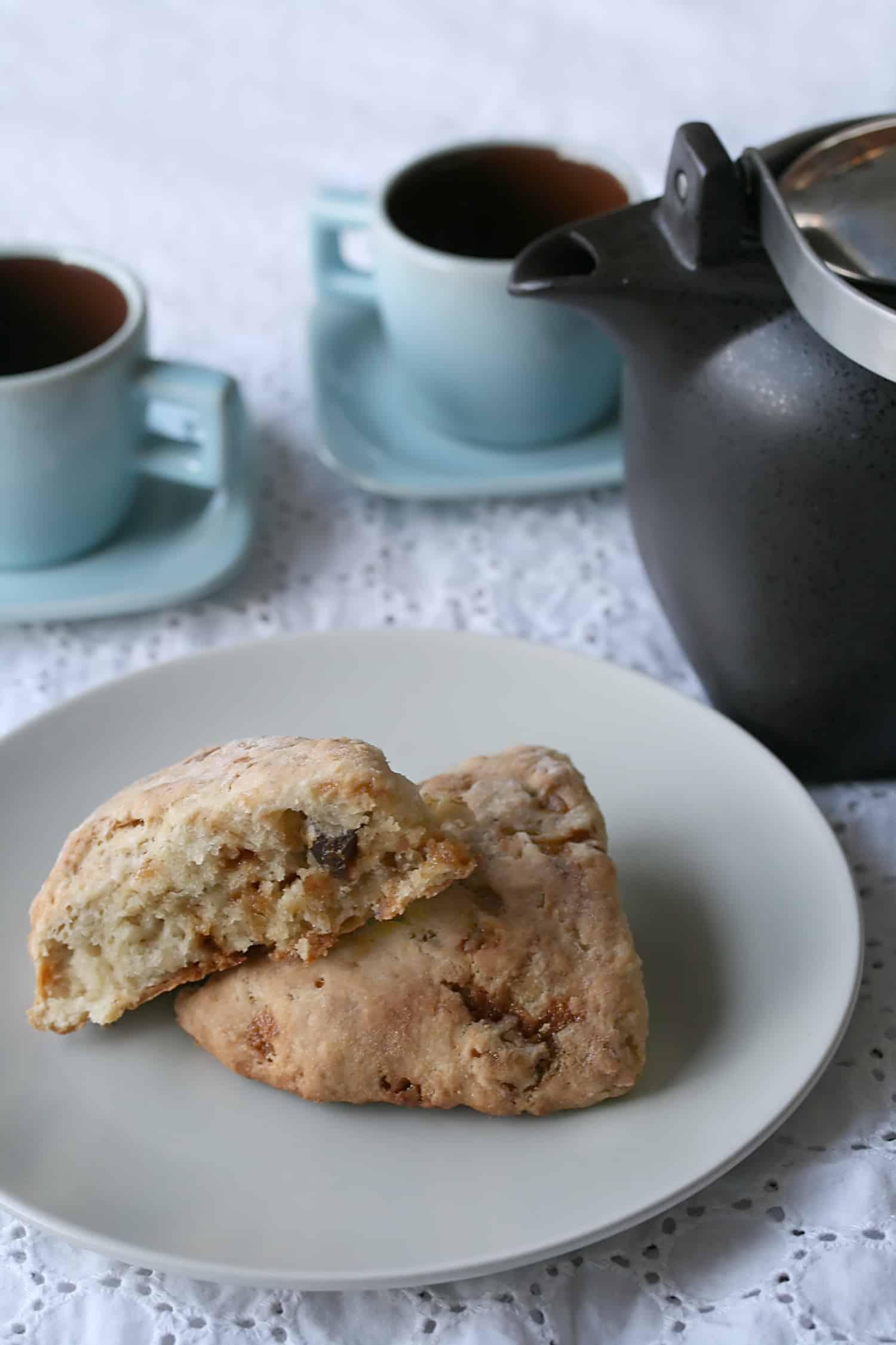 Toffee-Date Scones