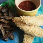Happy Meals for Grownups – Oven-Baked Chicken Fingers w/ Plum Chutney