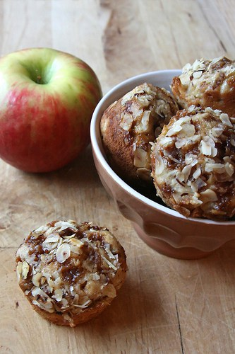 The Apple of My Eye – Caramel Apple Cupcakes
