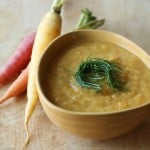 Walking on Sunshine: Fall Vegetable and Red Lentil Soup