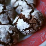 The Great Holiday Bake-a-thon, Pt 1 – Chocolate-Mint Crackle Cookies