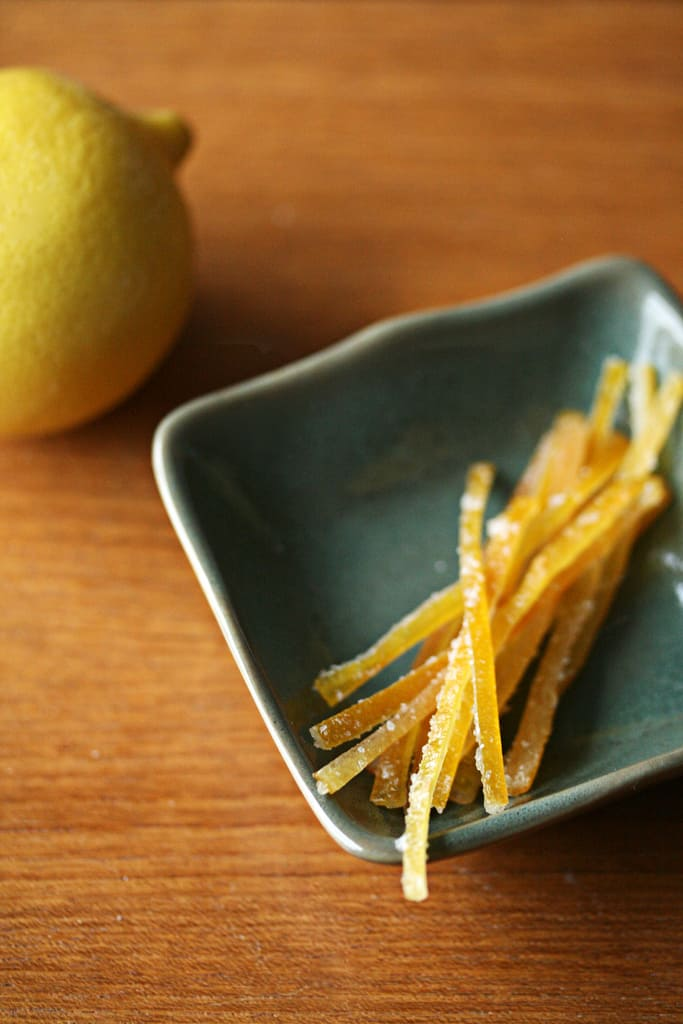 Zest for Life – Candied Meyer Lemon Peel