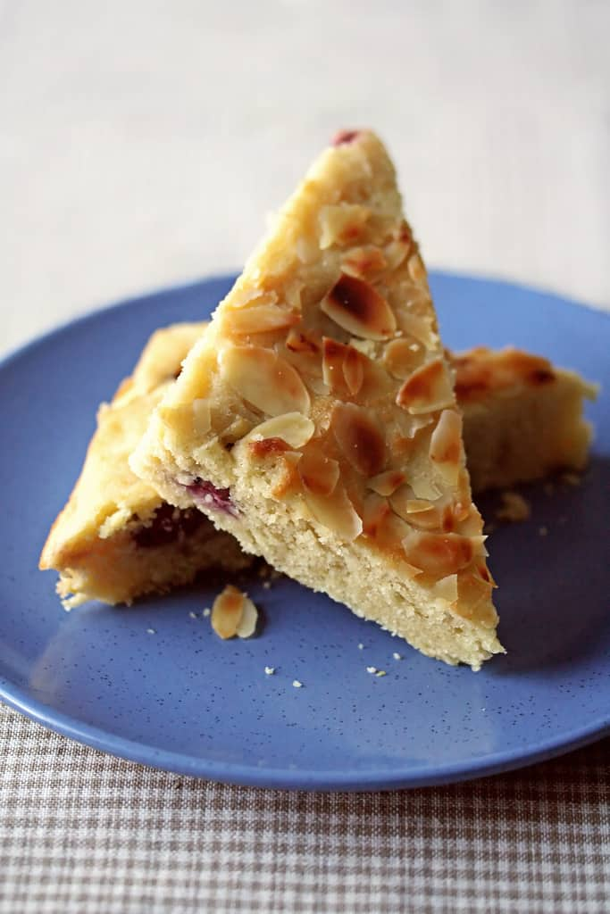 Nuts To You – Sour Cherry and Almond Semolina Cake
