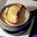 Toasted Garlic Soup