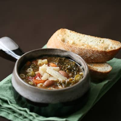 Getting Soup From a Stone – Winter Minestrone