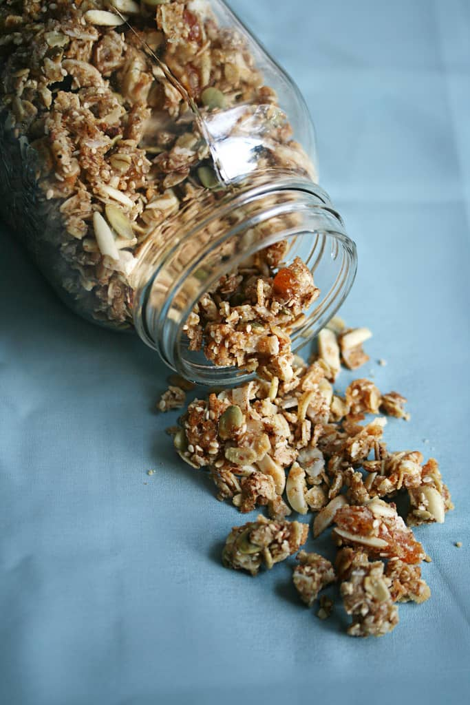 A Bowlful of Awesome: Chewy Cherry-Apricot Granola