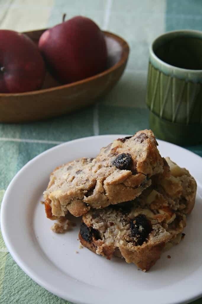 Apple Pecan and Cherry Loaf