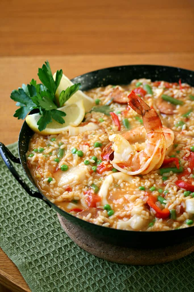 Five Years and Counting – Seafood Paella