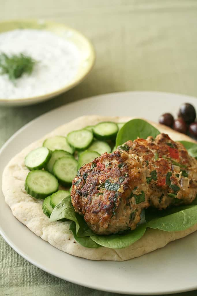 Get Him To The Greek – Mediterranean Turkey Burgers