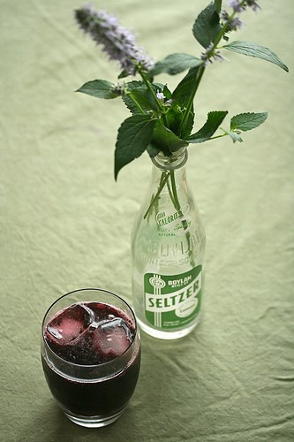 Pop Goes the World – Blackberry-Verbena Syrup (and Soda)