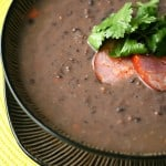 Viva Brazil – Brazilian Black Bean Soup and Pao de Queijo