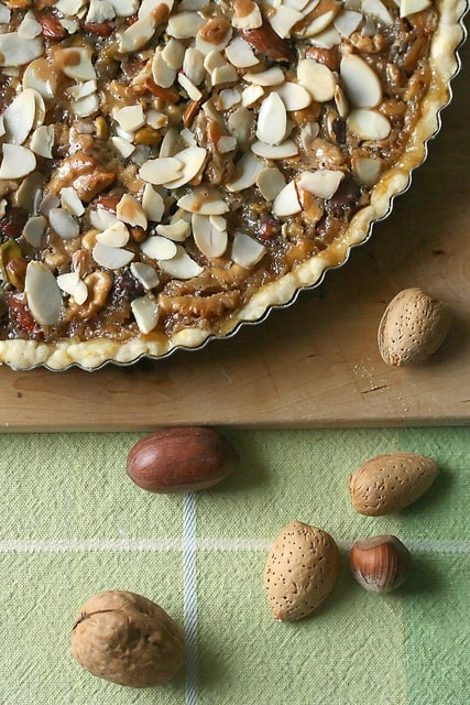 I'm Just Nutty for You, Honey – Honeyed Nut Tart