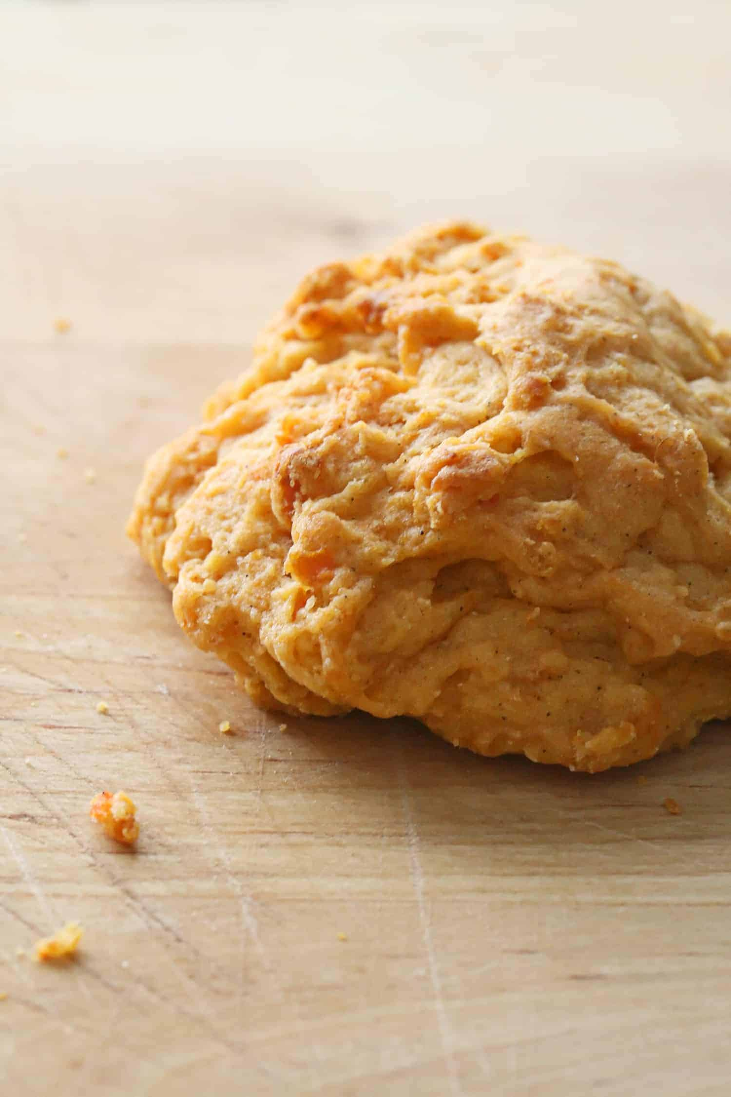 Yam Drop Biscuit