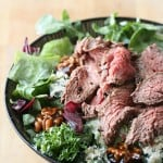 Kitchen Play: Black-and-Blue Flank Steak Salad