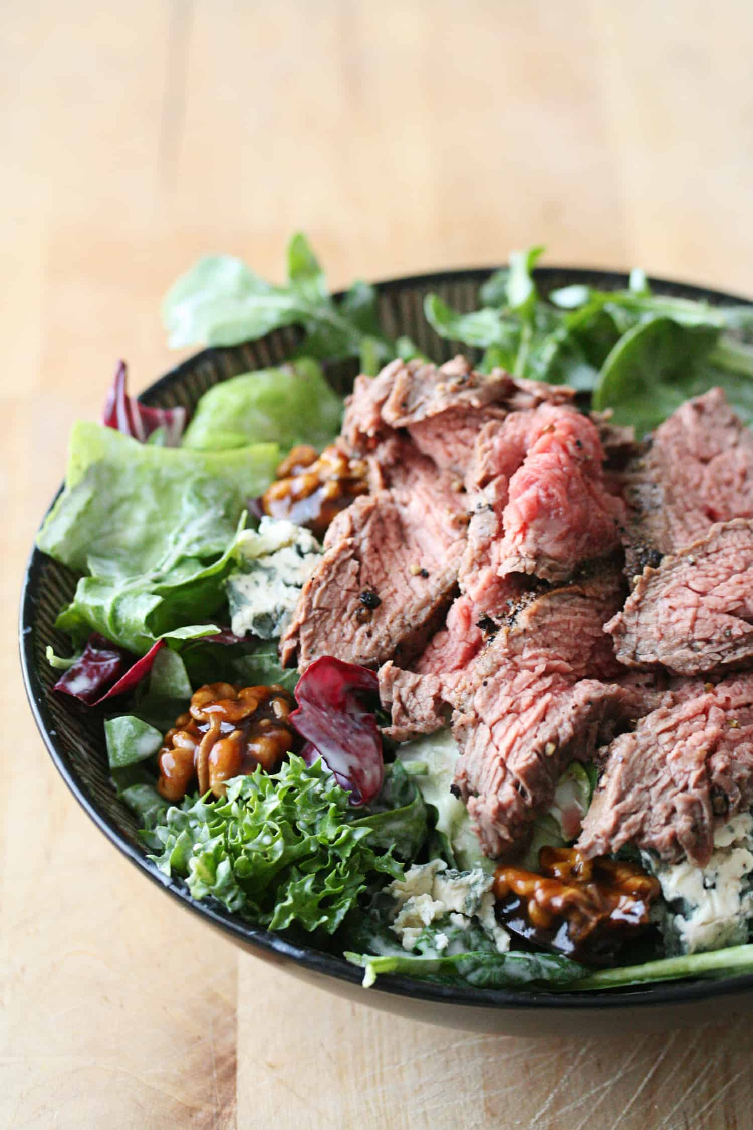 Kitchen Play: Black-and-Blue Flank Steak Salad