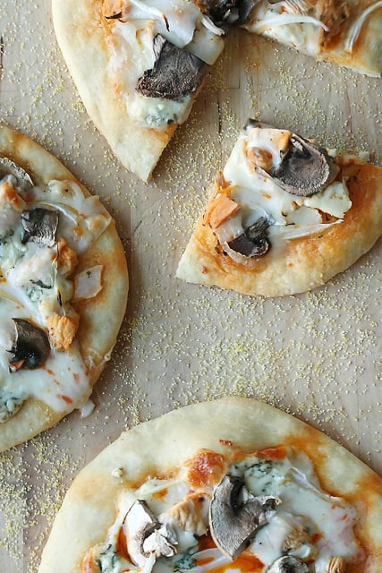 Game On: Buffalo Chicken Pizzettes