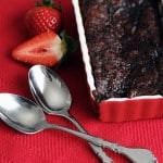 Lovin' Spoonfuls – Warm Raspberry-Chocolate Pudding Cake
