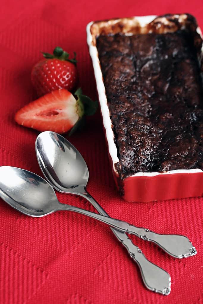 Lovin' Spoonfuls – Warm Raspberry-Chocolate Pudding Cake