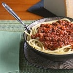 Recipe Rewind #4 – Spaghetti with Meat Sauce