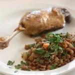 Nothing Fancy – Braised Lentils for Easter Dinner