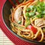 Desperation Dinners: Spicy Peanut Butter Noodles