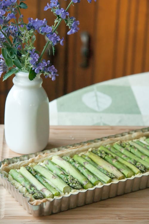 Tart Me Up: Asparagus Ricotta Tart