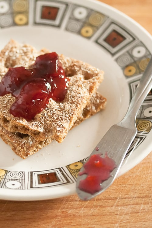 We Be Jammin': Gingery Plum Jam