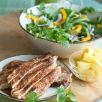 Secret Recipe Club: Grilled Chicken Salad with Spicy Pineapple Dressing