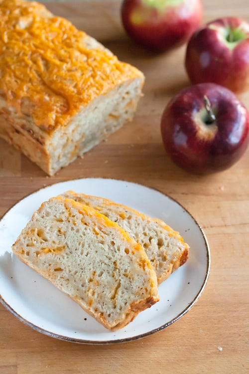 Secret Recipe Club: Apple Cheese Beer Quickbread