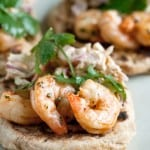 Secret Recipe Club: Chile-Lime Shrimp Naan Wraps