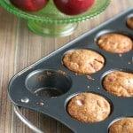Multigrain Apple Muffins