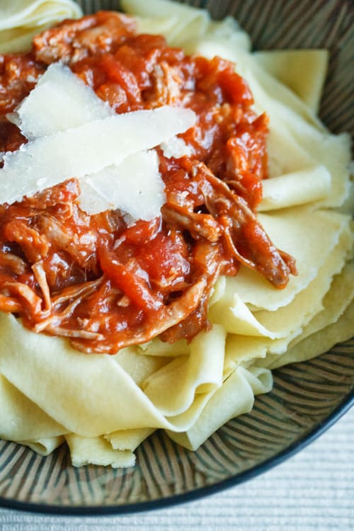 Slow Food: Rustic Pork Ragu