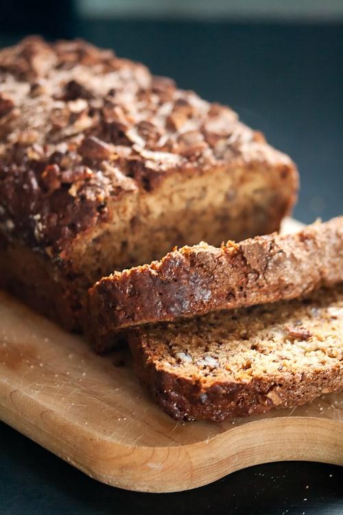 Secret Recipe Club: Toffee-Cinnamon Banana Bread