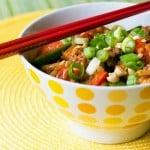 Noodling Around: Spicy Peanut Noodles with Ground Beef