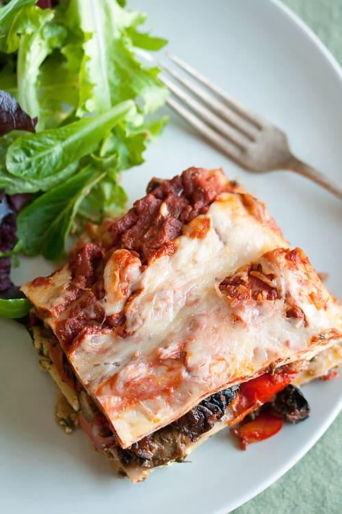Feeding the masses roasted vegetable lasagna crumb a food blog forumfinder Images