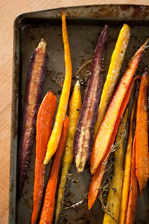 Rooting for the Home Team: Balsamic Roasted Carrots