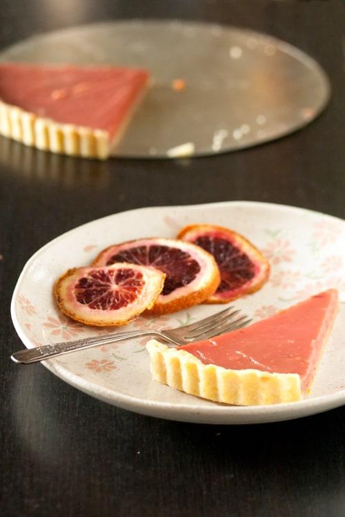 Pretty in Pink: Blood Orange Tart