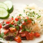 Small Packages: Baked Cod with Tomatoes and Olives