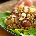 Secret Recipe Club: Lentil Salad with Grapes and Feta