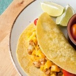 Secret Recipe Club: Potato and Chorizo Tacos