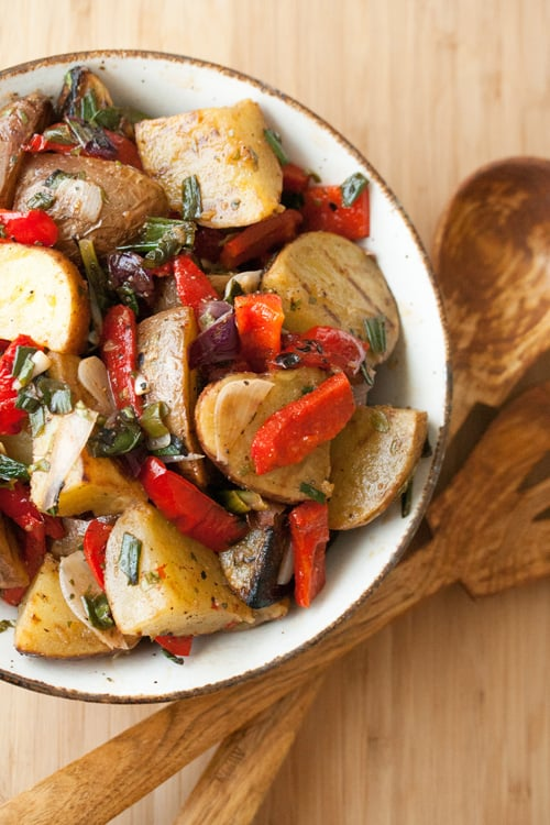 Flame On: Grilled Potato Salad