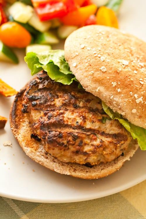 Jerk Turkey Burgers