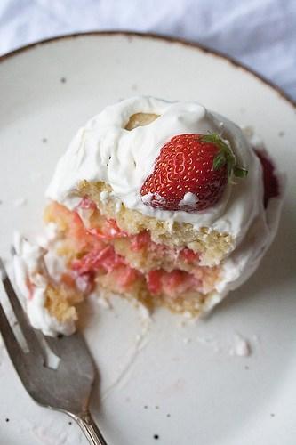 TWD: French Strawberry Cake